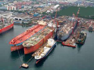 Japon gemi inşası 2011'de yavaşladı