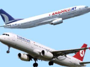 THY ve AnadoluJet uçağına arıza rötarı