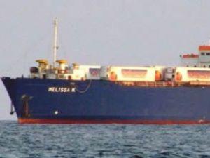 Rusya'da kaza yapan gemi İnebolu'da
