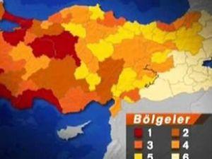 Türkiye'nin en çok ve en az kalkınmış illeri