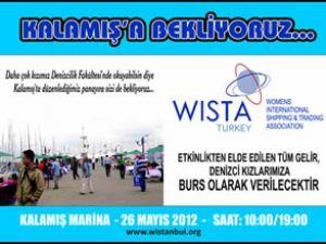 WISTA Türkiye Kalamış Marina'ya bekliyor