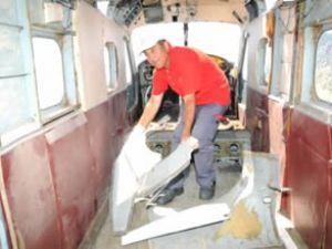 THK uçağı Akdeniz'in sularına gömülecek