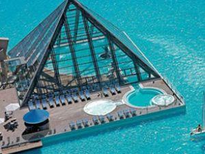 Şili'de dünyanın en büyük havuzu yapıldı