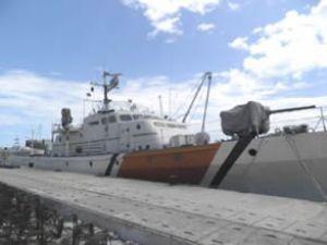 İnebolu'da sahil güvenlik botu battı