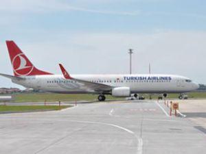 Türk Hava Yolları'nın yeni uçağı AHL'de
