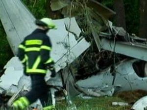 Almanya'da 'Diamond DA-42' tipi uçağı düştü