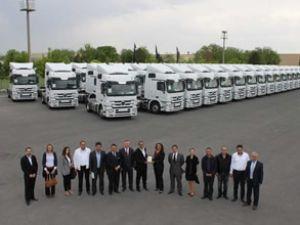 Mercedes'ten Lokal Enerji'ye dev teslimat