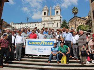 Goodyear bayileri İtalya'yı fethetti