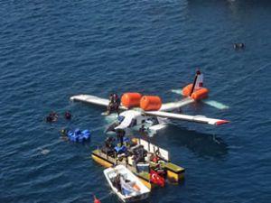 Emektar 44 yıllık uçak Antalya'da batırıldı