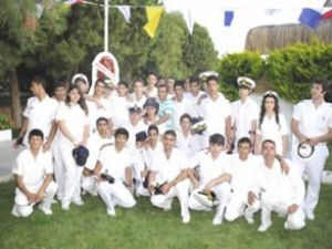Kuşadası Denizcilik Lisesi'nin gururlu günü