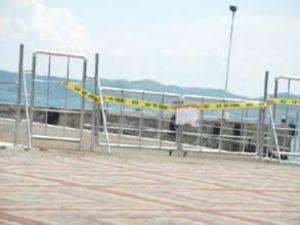 Marmara Adası'nda iki iskele kapatıldı