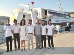 Komşu, Türk gemisine yolcu bindirmedi