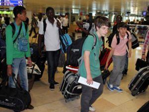 Atatürk Havalimanı'nda tatil zamanı