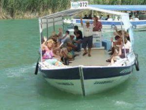 Çevreci tekne Dalyan'da sefere başladı