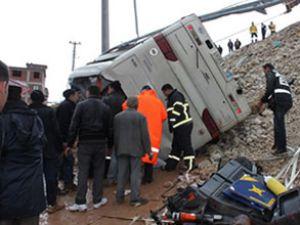 Kütahya'da feci kaza: 7 ölü, 40 yaralı
