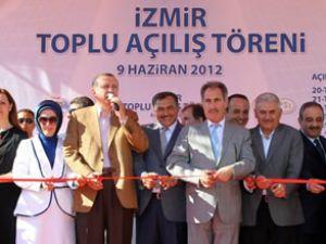 İzmir Kongresi Erdoğan ve Yıldırım katıldı