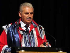 Yıldırım'a Pamukkale Üniversitesi'nden fahri doktora