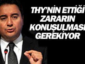 Ali Babacan'dan Türk Hava Yolları cevabı