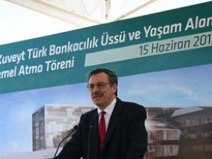 Kuveyt Türk temeli Şekerpnar'da attı