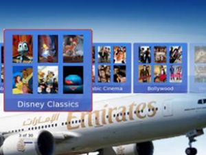 Emirates'e 'En iyi uçak içi eğlence' ödülü