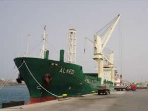 Suriye gemisi İskoçya'da durduruldu
