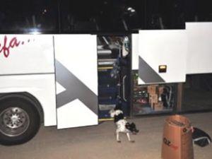 Yolcu otobüsünde bomba alarmı