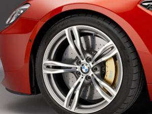 BMW'nin M6'sı,Michelin ile yollarda