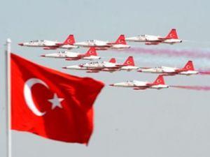 Türk Yıldızları'nın 20.yıla yakışır tanıtım