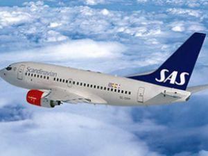 İskandinav uçağı'nın kokpitin'de duman