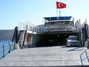 Bodrum-Datça feribot seferleri durduruldu