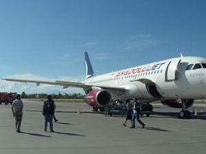 Van Ferit Melen Havalimanı'nda tatbikat