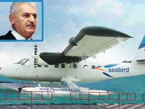 Yıldırım Deniz Uçağıyla Alaçatı'ya geldi
