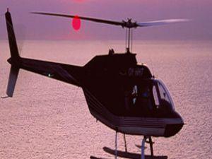 Düşen askeri helikopter yolcu uçağıyla çarpışmış