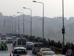 Galata Köprüsü 1 saat trafiğe kapatılacak