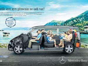 Mercedes'in yıldızları görücüye çıkıyor