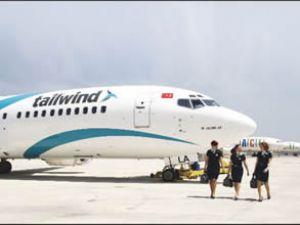 Merkel'den,Tailwind uçağına övgü geldi