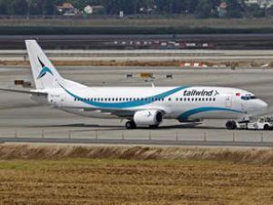 Tailwind Havayolları Gazipaşa'ya indi