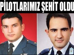 Kaybolan Türk pilotları'nın naaşı bulundu