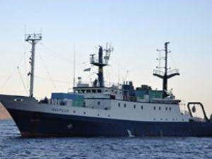Araştırma gemisi Natilus Türkiye'ye döndü