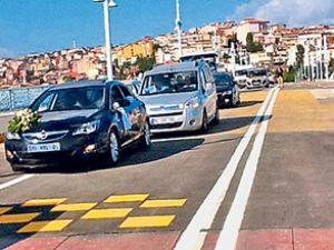 Eski Galata Köprüsü trafiğe açıldı