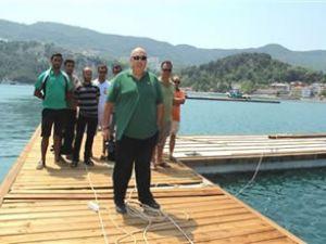 Amasra'nın limanı tamamlanmak üzere