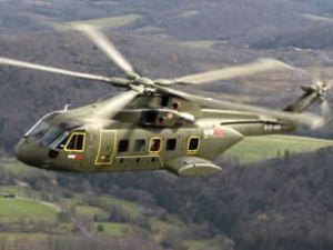 Pakistan'ın kuzeyi'nde helikopter düştü