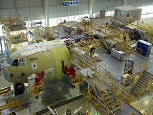 Türkiye'nin ilk A400M'i montaja başladı