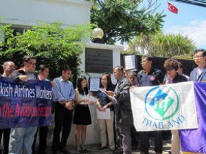 Tayland THY'yi büyükelçiliğe şikayet etti