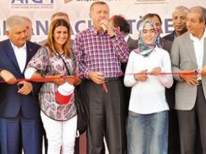 Erdoğan, Iğdır Havalimanı'nı hizmete açtı
