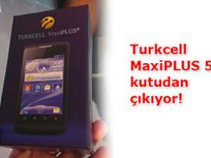 Turkcell MaxiPLUS 5 kutudan çıkıyor