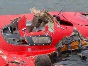 Sürat tekneleri yarışında facia kaza