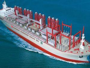 Gemide elektrik üretecek Lübnan'a satacak