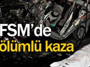 FSM Köprüsü'nde kaza: 1 kişi öldü