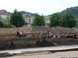 Bursa'da antik liman kalıntıları bulundu